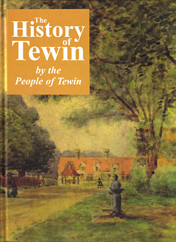 The cover of The History of Tewin
